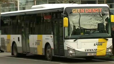 Photo of حافلات De Lijn في بروج مجاناً والنقابات ترد بالإضراب