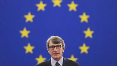 Photo of إنتخاب صحفي إيطالي لرئاسة البرلمان الأوروبي