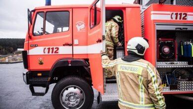 Photo of أخبار بروكسل : إصابة شخصين إثر نشوب حريق داخل شقة سكنية