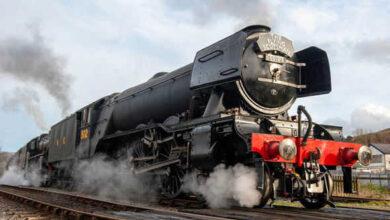 "Photo of إطلاق قطار بمحرك ""بخاري"" يربط بروكسل وميكلين"