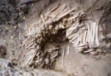 "Photo of علماء الآثاء يكتشفون جدران مصنوعة من عظام بشرية أسفل كاتدرائية ""غنت"""
